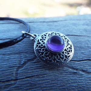 Sterling silver amethyst pendant the product is already in the wishlist browse wishlist amethyst pendant silver gemstone handmade necklace sterling aloadofball Images