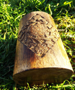 Box Wooden Flower Jewelry Carved Handmade Home Decor Indian Floral Mango Tree Wood Trinket Treasure Chest Casket Eco Friendly