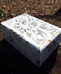 Box Wooden Handmade Antique Vintage Carved Spiral Swirl Symbol Celtic Jewelry Box Home Decor Mango Tree Wood Eco Friendly