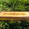 Box Wooden Handmade Pencil Box Pencilcase Indian Balinese Trinket Hand Painted Jewelry Bohemian