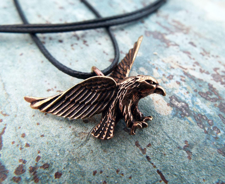 Copper Eagle Pendant