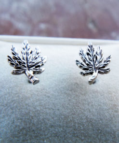 Earrings Cannabis Studs Silver Marijuana Handmade Sterling 925 Joint Legalise Hippie Bob Marley Jewelry Gothic Vintage Antique