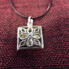Locket Pendant Silver Sterling 925 Necklace Handmade Antique Vintage Jewelry 2