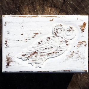 Owl Box Wooden Handmade Trinket Bird Wisdom Protection Animal Symbol Carved Jewelry Mango Antique Tree Chest Casket Wood Eco Friendly