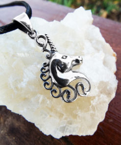 Pendant Silver Unicorn Horse Sterling Handmade 925 Necklace Jewelry Fairytale Magic