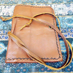 Tobacco Pouch Leather Case Handmade Genuine Leather Smoking Rolling Cigarettes Pocket
