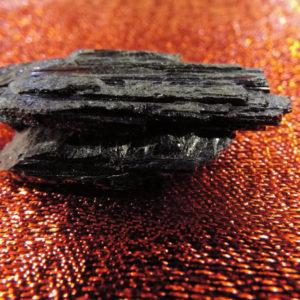 Tourmaline Black Gemstone Rough Solid Rock Untouched Spiritual Healing