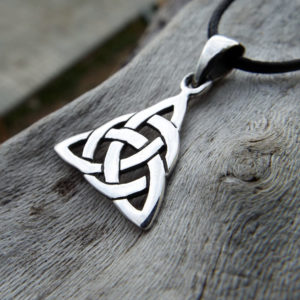 Triquetra sterling silver pendant the product is already in the wishlist browse wishlist triquetra pendant mozeypictures Image collections