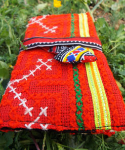 Tobacco Pouch Cotton Handmade Aztec Fabric Case Pocket Hand Stitched Hippie Boho