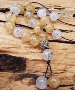Komboloi Greek Worry Beads Citrine Prayer Beads Rosary Beads Turkish Tasbih Handmade Gemstone