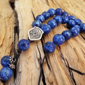 Komboloi Greek Worry Beads Lapis Lazuli Prayer Beads Rosary Beads Turkish Tasbih Handmade Gemstone