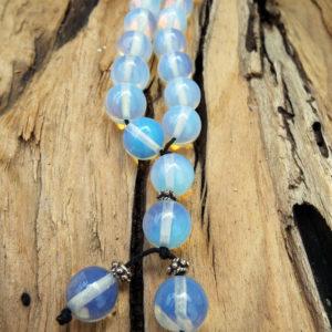 Komboloi Greek Worry Beads Opalite Prayer Beads Rosary Beads Turkish Tasbih Handmade Gemstone