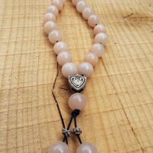 Komboloi Greek Worry Beads Pink Alabaster Prayer Beads Rosary Beads Turkish Tasbih Handmade Gemstone