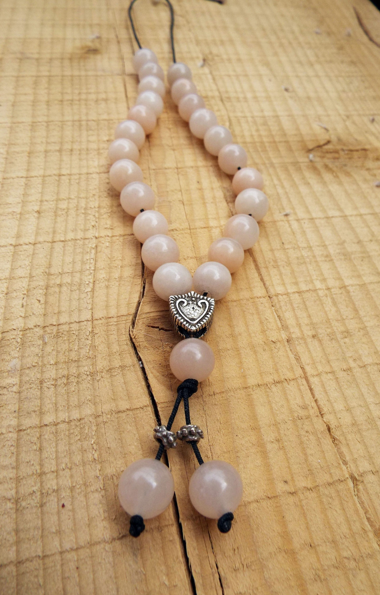 Komboloi Greek Worry Beads Pink Alabaster Prayer Beads Rosary Beads Turkish Tasbih Handmade Gemstone