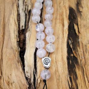 Komboloi Greek Worry Beads Rose Quartz Prayer Beads Rosary Beads Turkish Tasbih Handmade Gemstone
