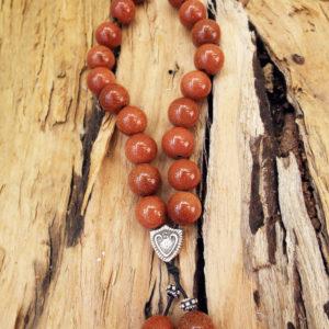 Komboloi Greek Worry Beads Sandstone Prayer Beads Rosary Beads Turkish Tasbih Handmade Gemstone