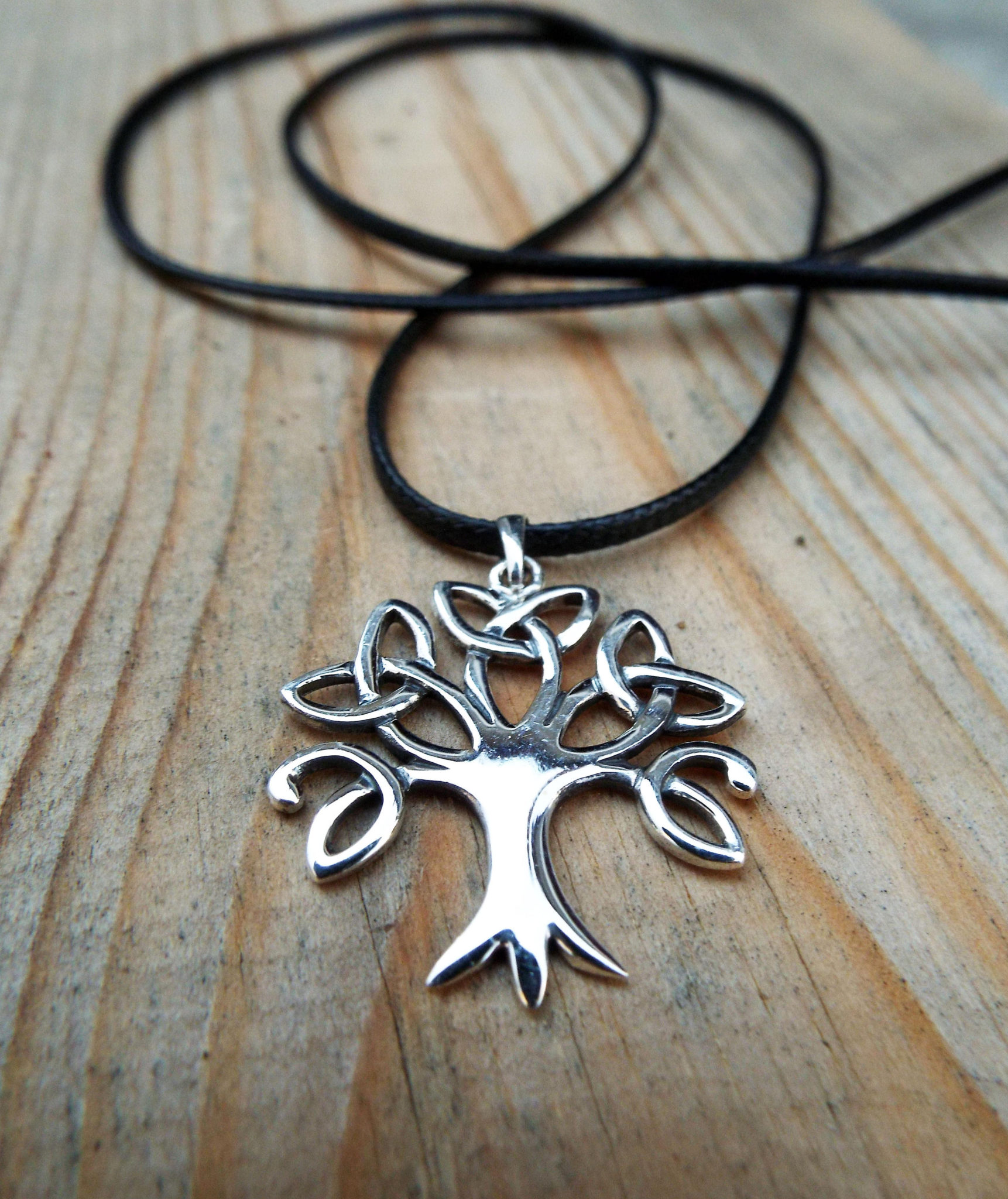 7e41f56923648 Tree of Life Pendant Silver Handmade Necklace Sterling 925 Celtic Jewelry  Symbol